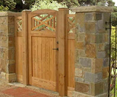 fence gate design ideas fence gate design ideas wood fence with - Fence Gate Design Ideas